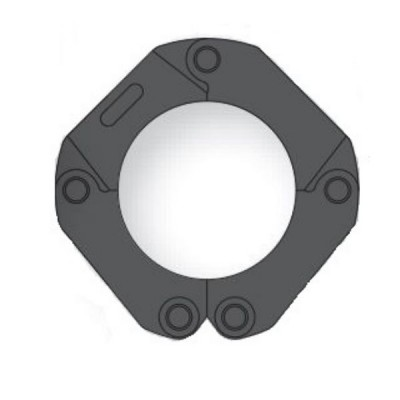 AusPress 100mm Copper Press Collar V-Profile Suit Novopress ACO203 Tool NP.PKC.100
