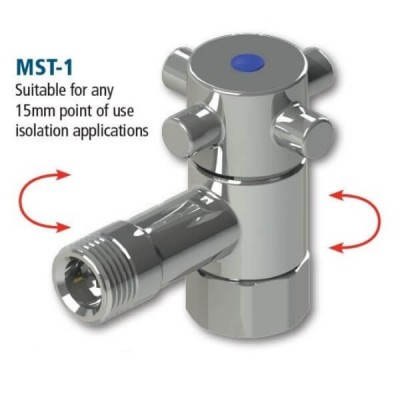 15mm Maxistop Valve Pressure Limiting & Isolating MST-1