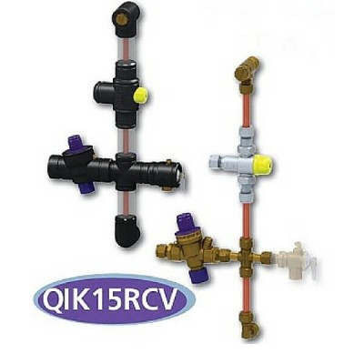 AVG Quickie Kit QIK15RCV 15mm Storage Unit Standard Tempering & Nri-Prv Valve