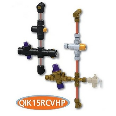 AVG Quickie Kit QIK15RCVHP 15mm Storage Unit High Performance Tempering & Nri-Prv Valve