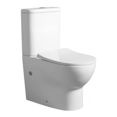 Barnett Nano Rimless Wall Face Toilet Suite White