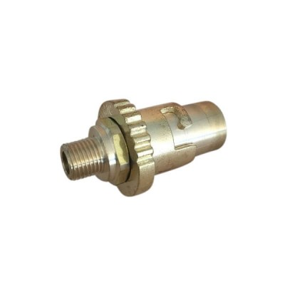 "Bayonet Low Pressure Hose Adaptor Brass Inlet 1/4"" Male Bsp 1510161"
