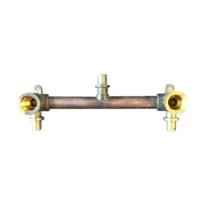 Breech Shower 200mm Right Angle Pex Pull On