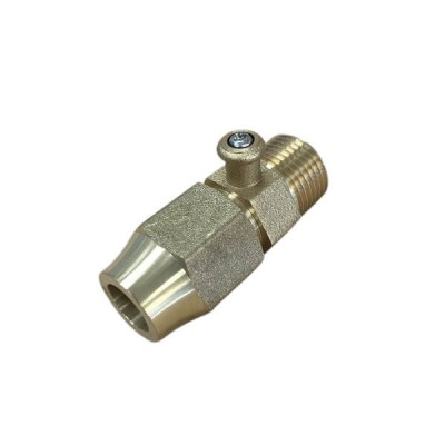 "Bromic Test Point Adaptor 1/2"" Bsp Male X 1/2"" Flare 6160674"