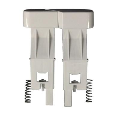 Caroma 233131W Slimline Toilet Cistern Button Dual Flush White