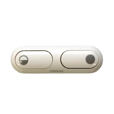 Caroma 2000 Series Elongated Toilet Cistern Button White 405167W
