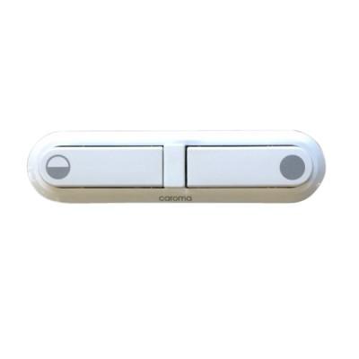 Caroma 413101W Elongated Toilet Cistern Button White