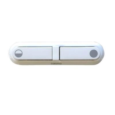 Caroma Elongated Toilet Cistern Button White 413101W