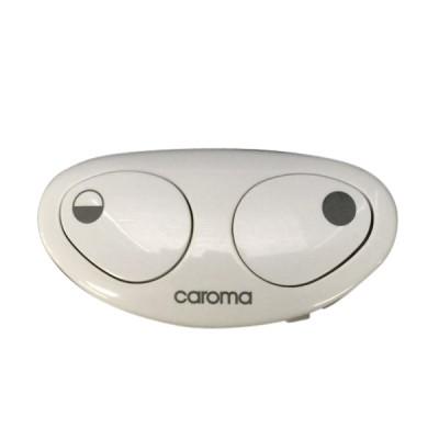 Caroma 414270W Leda Toilet Cistern Operating Button White