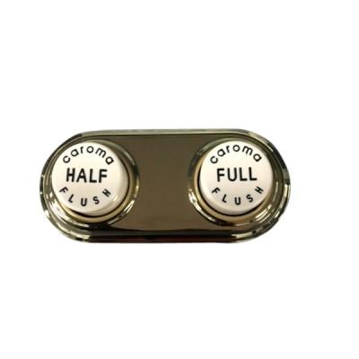 Caroma 687265I Ivory Gold Vintage Toilet Cistern Button