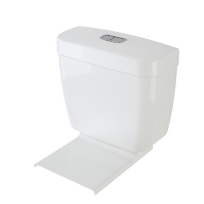 Caroma Aire White Dual Flush Connector Toilet Cistern & Seat 4.5/3 Litre 234040W