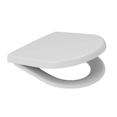 Caroma Arc Toilet Seat White With Soft Close Metal Hinges 300042W