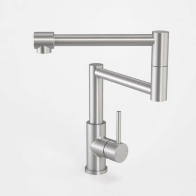 Caroma Compass Pot Filler Stainless Steel 99028SS