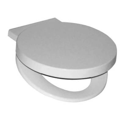 Caroma Geo Toilet Seat White Soft Close Blind Fix Hinge 300034W