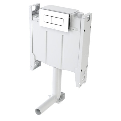 Caroma Invisi 2 Inwall Urinal Cistern 1.8 Litre Single Flush 237002