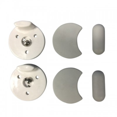 Caroma Pedigree 2 Care Toilet Seat Buffer Set 300114