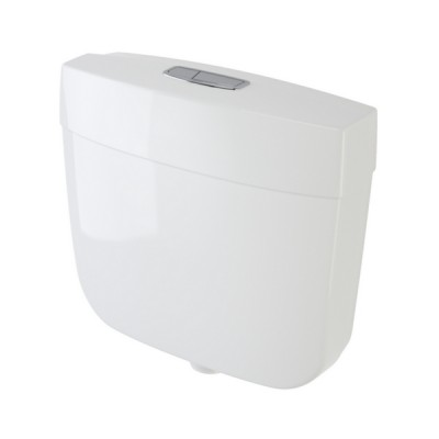 Caroma Slimline Dual Flush Toilet Cistern 6/3 Litre Mid-Low Level 233036W