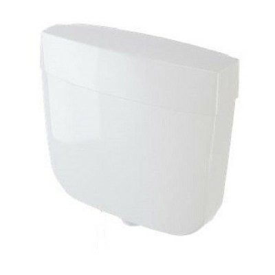 Caroma Slimline Urinal Cistern Single Flush Plastic 233032W