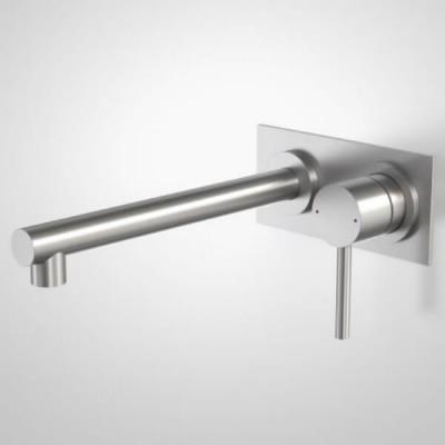 Caroma Titan Wall Basin Mixer Stainless 99006SS5A