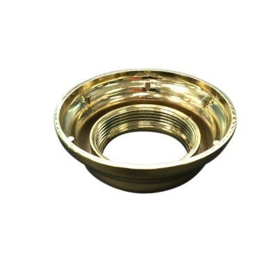 Caroma Vintage Flush Pipe Coupling Nut Gold 687255