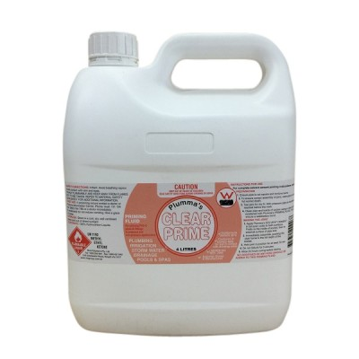 Clear Priming Fluid 4 Litre