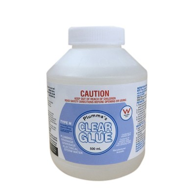 Clear Solvent Cement Type N Non Pressure 500ml