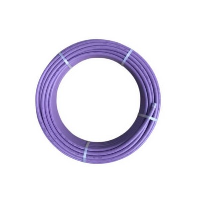 16mm X 50m Lilac Recycled Water Pex B Pipe