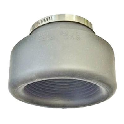 Deks Rubber Pan Adaptor Type 4 Cast Iron & Pvc Dwv 110mm PA420