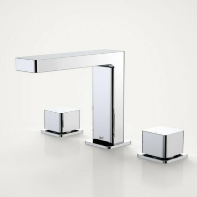 Dorf Epic Bloc Basin Tap Set Chrome 6226.045A
