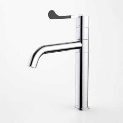 Dorf Hepburn Sink Mixer Chrome Matte Black 6492.044A