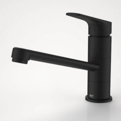 Dorf Kip Sink Mixer Matte Black 872880B5A