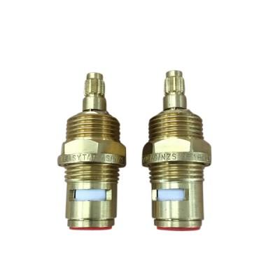 Easytap TZ2019 1/4 Turn Brass Basin Spindles Irwell 12 Teeth (Pair)