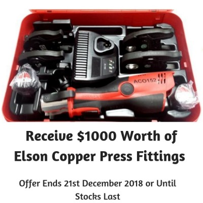 Elson aco152 copper press tool promotion