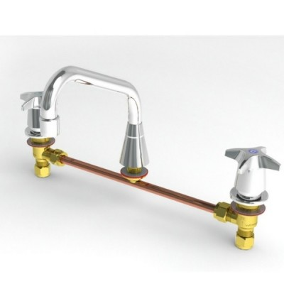 Enware CS307 Sink Tap Set With Sp010 Spout Jumper Valve