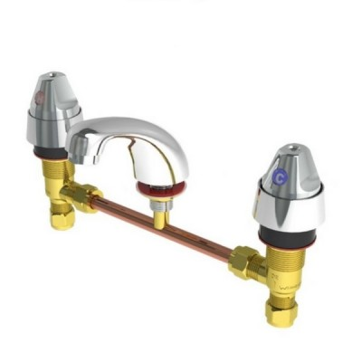 Enware DET306 Detention Basin Set Tap With Sp003 Fixed Spout