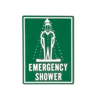 Enware ESS503 400 X 300 Colourbond Emergency Shower Sign