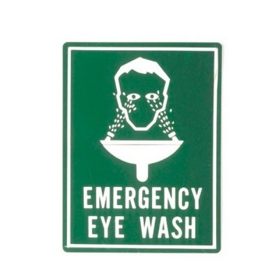 Enware ESS504 400 X 300 Colourbond Emergency Eyewash Sign