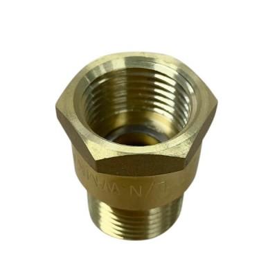 "Ewing Cap Off Adaptor Brass 15mm 1/2"" BSP M x F TAS100"