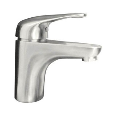 Ewing Classic Fixed Basin Mixer Satin Stainless SMX535