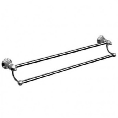 Ewing Pasadena Double Towel Rail 750mm Chrome BAA29