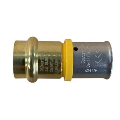 16mm Gas Pex To 12mm Copper Crimp Adaptor