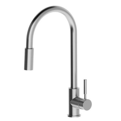 Greens Alfresco Pull Down Spray Sink Mixer Stainless 5 Star 5.5 L/Min 35520101