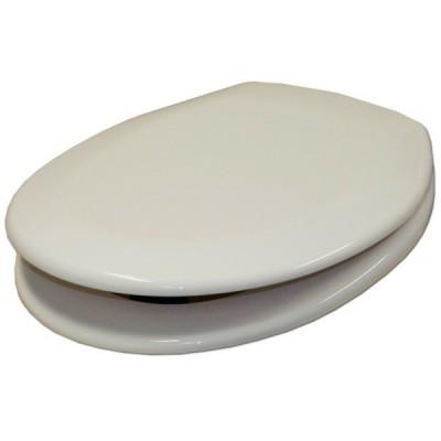 Haron Aquarius Toilet Seat Slow Close Hinge White TS1000