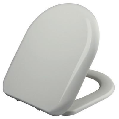 Haron Florenze Toilet Seat Round Edge Slow Close White TS1800