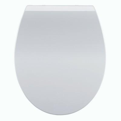 Haron Slimline D Shape Toilet Seat Slow Close White TS2300