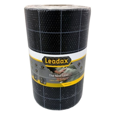 Leadax 600mm X 6m Black Roof Flashing