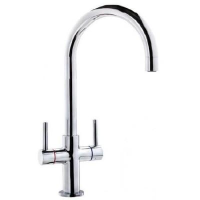 Ewing Luciedo Twinner Kitchen Sink Mixer Chrome MT003