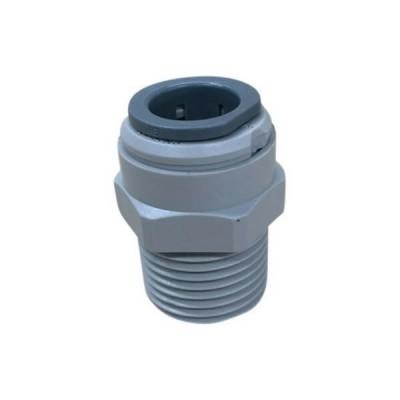 1/4 Tube x 1/4 Male Adaptor Quick Connect KSA44