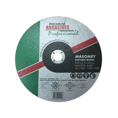 Masonry Cutting Wheel 230mm X 2.5 X 22