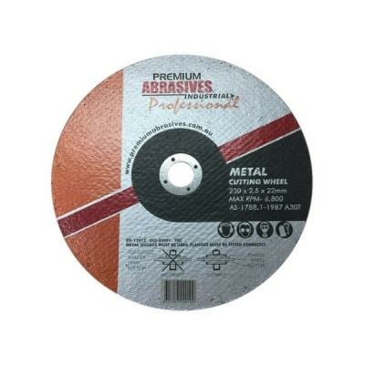 Metal Cutting Wheel 230mm X 2.5 X 22